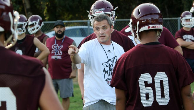 South Kitsap football coach Cory Vartanian and the Wolves are 0-4 this season after going winless in 2017. The team hosts Bellarmine Prep on Friday for homecoming.