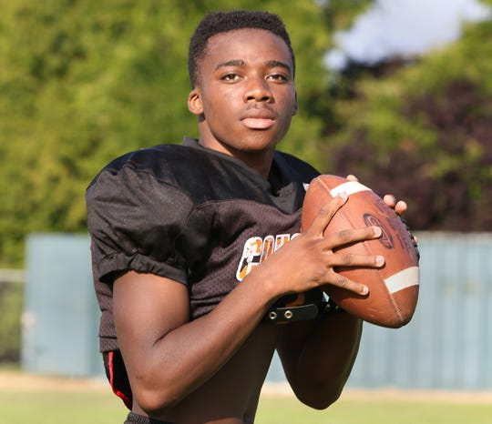 Elijah McGee, previously a receiver, will be under center this season for Central Kitsap. He played quarterback in middle school.