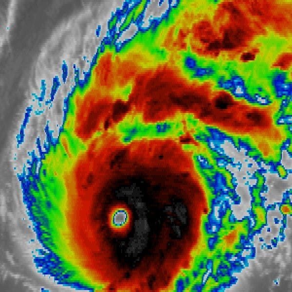 Hurricane Lane grows even stronger as it heads toward Hawaii with 155-mph winds