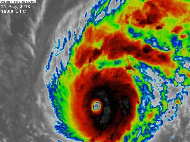 Hurricane Lane 2 p.m. Aug. 21, 2018