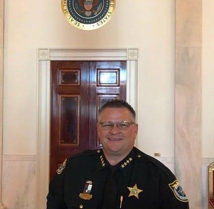 Sheriff Wayne Ivey at the White House