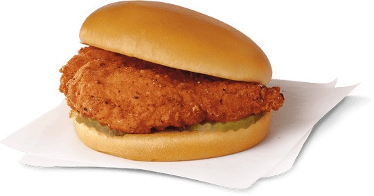 Chick-fil-A claims to have invented the chicken sandwich