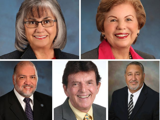 Six have filed for candidacy for three Del Mar College regent seats.