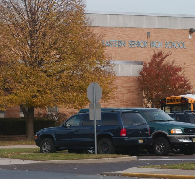 Parents and students will have to adjust to new drop-off procedures at Eastern Regional High School this year.