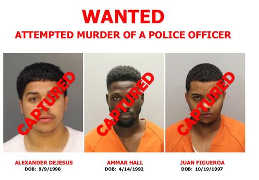 Camden County Cop Shooting Suspects