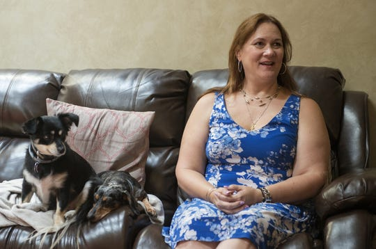 In her Mount Laurel home, Alexandra Preis talks about how ketamine infusions eased her chronic pain and depression.