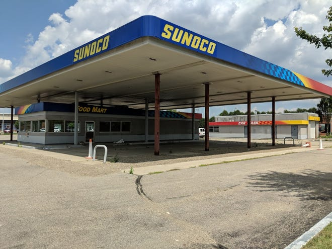The gas station that will become a park for food trucks in West Chester