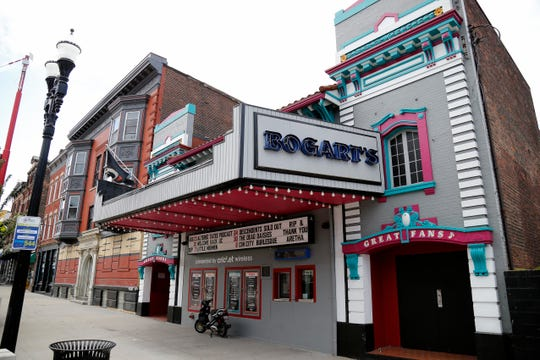 Bogart's music venue in the Corryville neighborhood of Cincinnati on Tuesday, Aug. 21, 2018.
