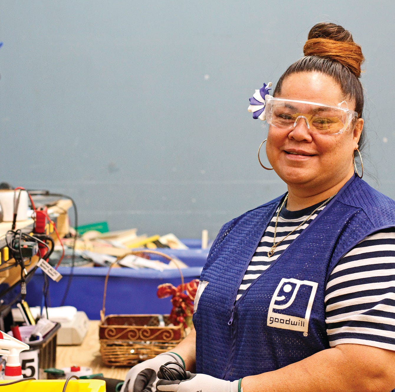 Native of American Samoa finds new future with Goodwill in Clarksville