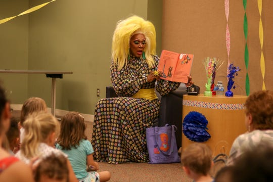 Rahway residents fought back intolerance by showing their support of the Drag Queen Story Hour at the Rahway Public Library on August 21 at 11:30 a.m.