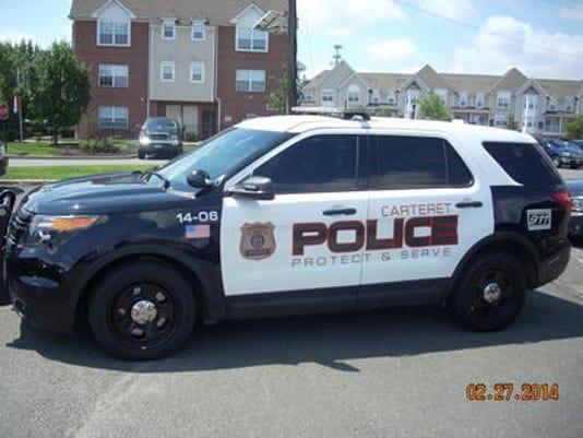 Carteret Police Car