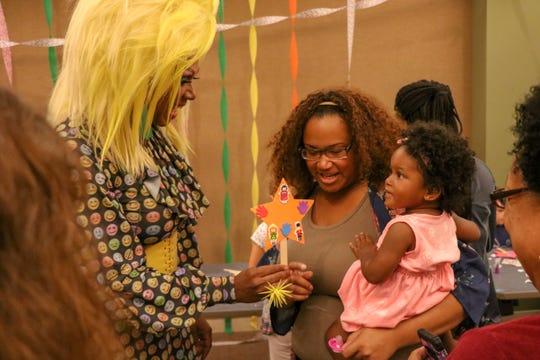 Rahway, New Jersey: Residents fought against intolerance by showing their support of the Drag Queen Story Hour Aug. 21, 2018, at Rahway Public Library after fliers stuffed in some mailboxes protested the event.