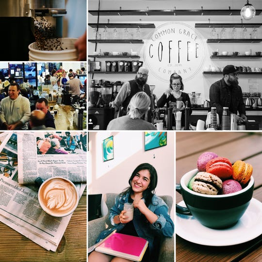 Common Grace Coffee in Dearborn has a hipster, yet modern, decor that customers appreciate. It also offers great dessert options like pastries and macaroons.