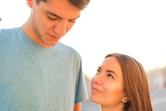 Girlfriend Looking At Her Guilty Boyfriend