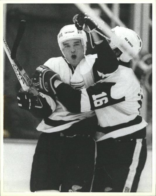 Joe Murphy, Detroit Red Wings