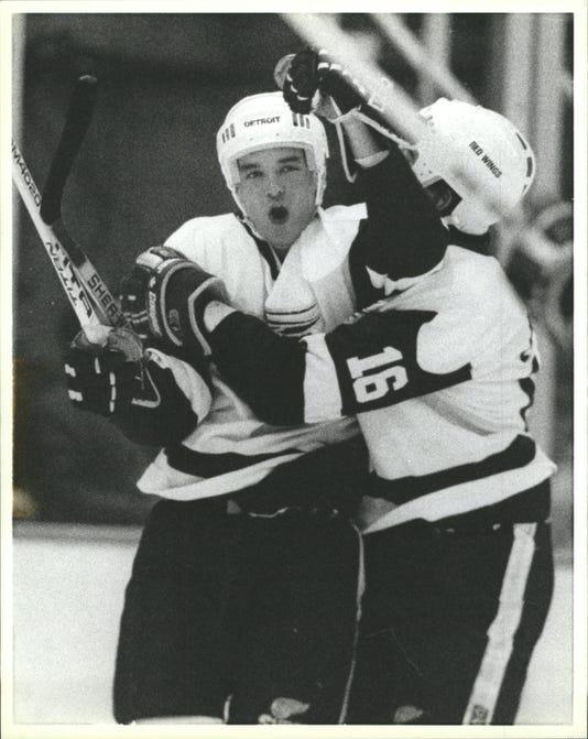 Joe Murphy, Detroit Red Wings