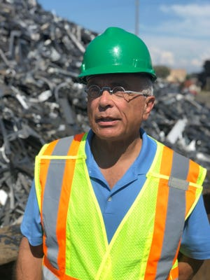 """Jeff Padnos, chairman of PADNOS, says he does not expect to need to layoff workers in light of the trade war. He remains hopeful that a resolution can be reached down the road. """"The tariffs are an obstacle. But we're still optimistic,"""" he said."""