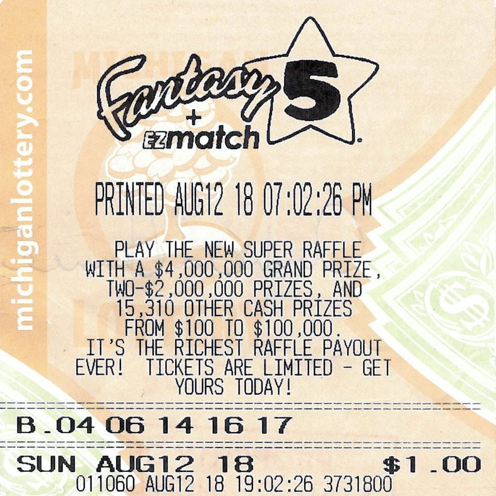 Genesee Co. man wins largest Fantasy 5 jackpot in Michigan history