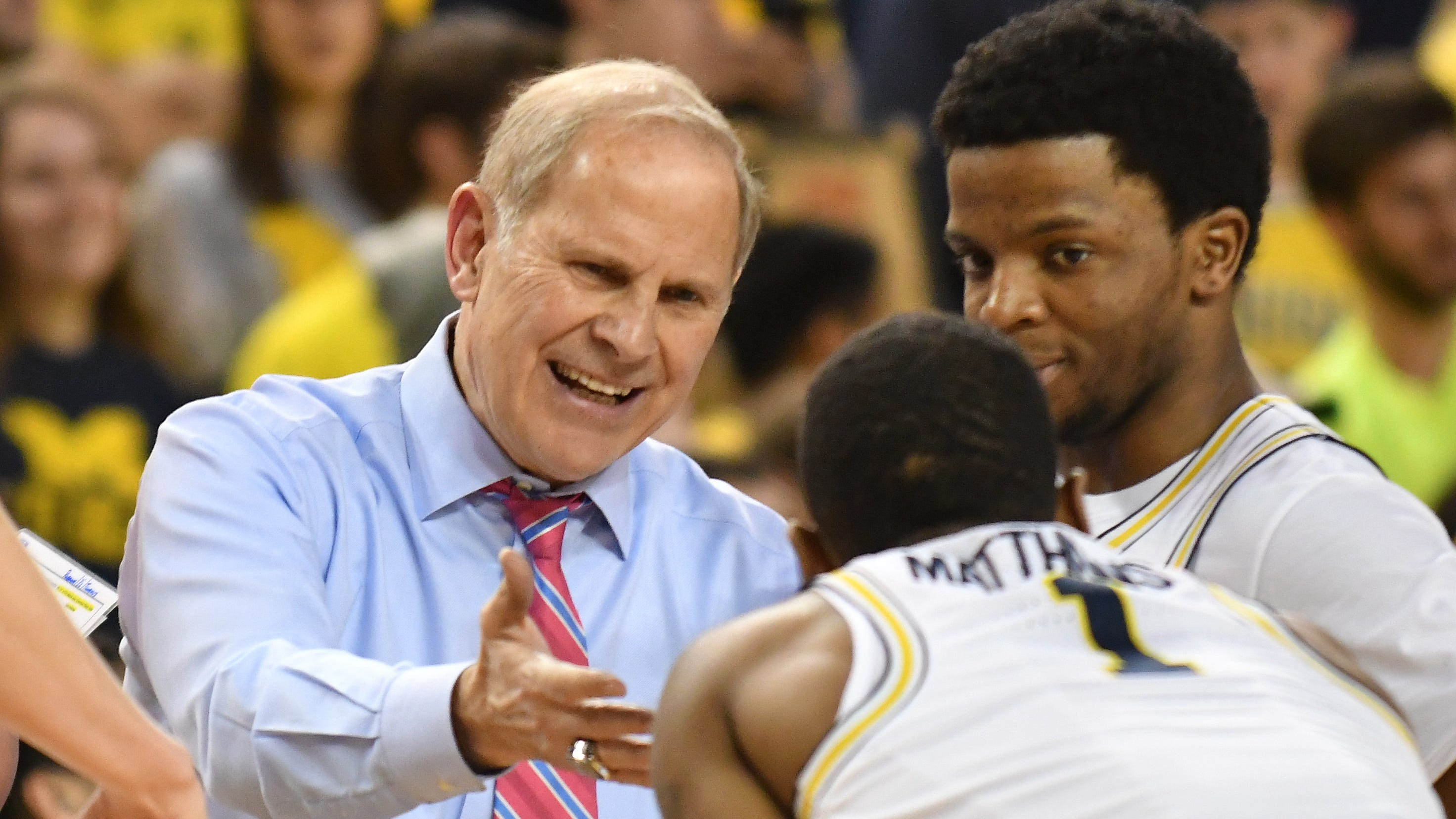 UM's John Beilein 'proud' to see banners go up tonight