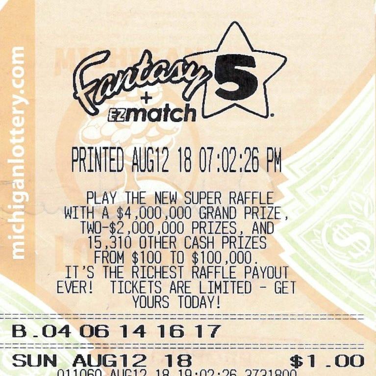 Genesee County man wins record-breaking Fantasy 5 jackpot