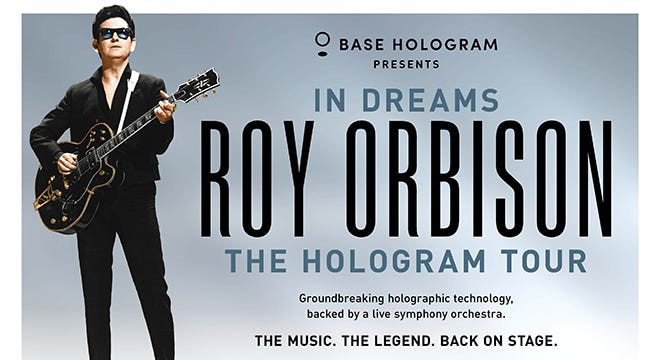 Roy Orbison's hologram will perform at the Fox Theatre Oct. 20.