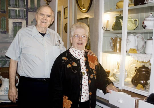 Harold and Winnie Watts owned Maple Avenue Antiques and other businesses on Elmira's Southside.