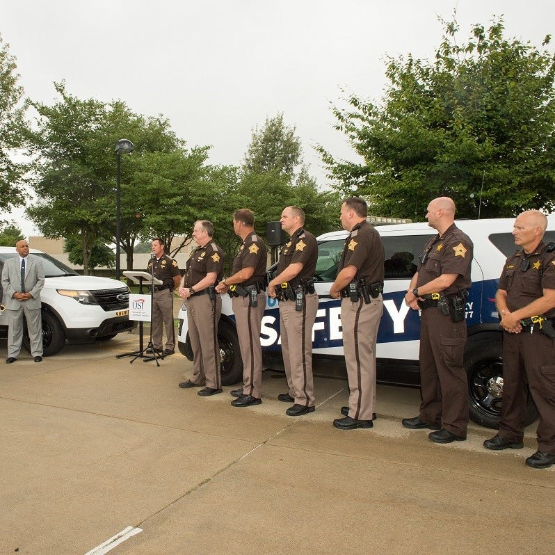 USI increases campus security by adding 5 full-time sheriff's deputies