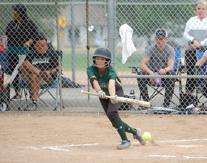 The Fossil Ridge and Rocky Mountain softball teams are playing a tournament at Centennial Park this weekend.