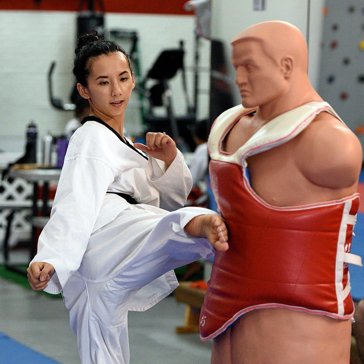 Taekwondo event features three tournaments