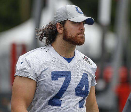 Colts offensive tackle Anthony Castonzo remains sidelined.