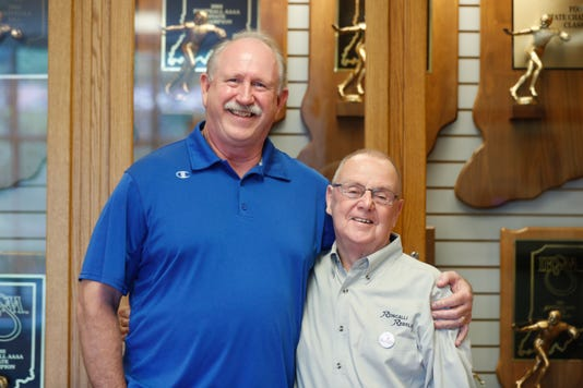 Two Former Roncalli Coaches Bruce Scifres And Bob Tully Will Be Inducted Together Into The Indiana Football Hall Of Fame