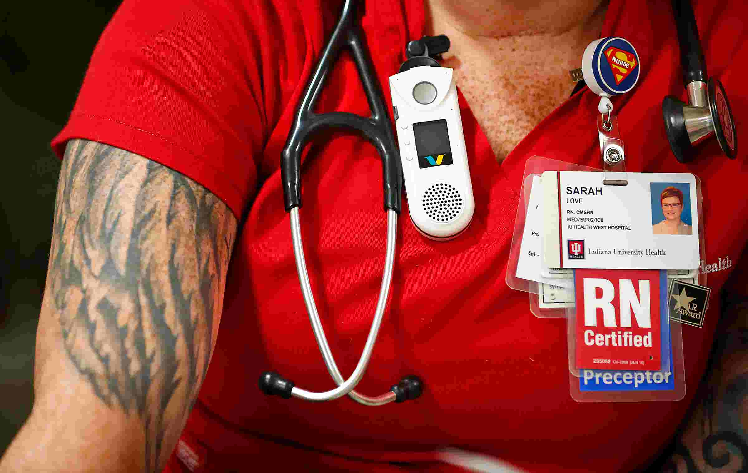 Tattoos In The Workplace Largest Indiana Health System Relaxes Policy