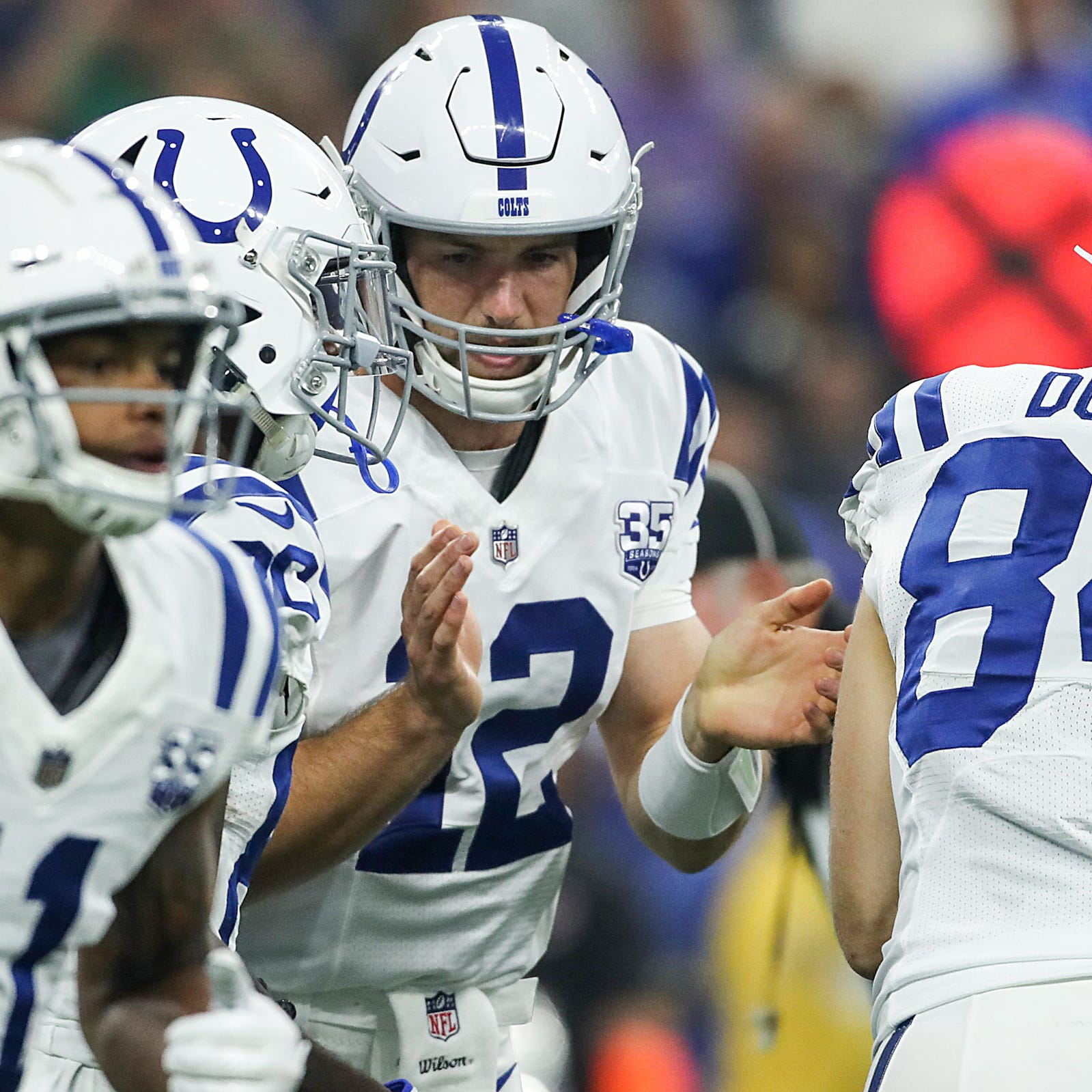 Colts QB Andrew Luck says he plays 'not very well'  against Ravens