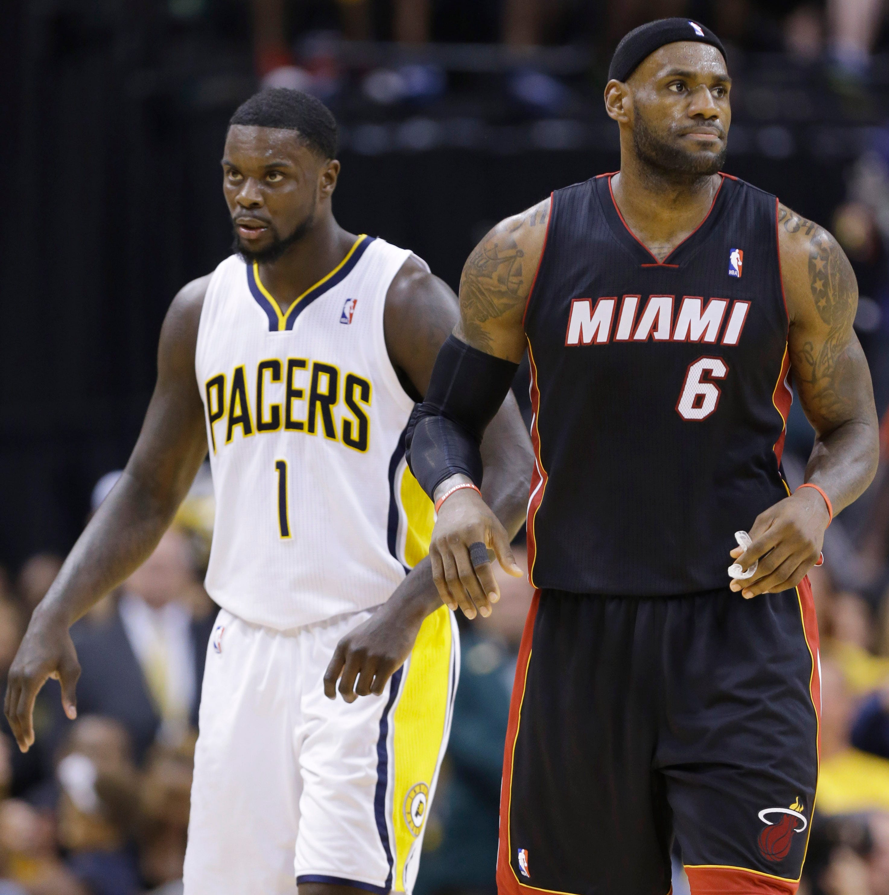 Why did Lance blow in LeBron's ear? Now we know.