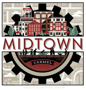 Carmel has contracted for a 30-foot by 30-foot mural in Midtown.