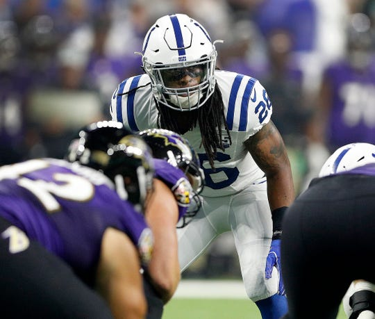 If his play in the preseason is any indication, Clayton Geathers is back to his hard-hitting ways.