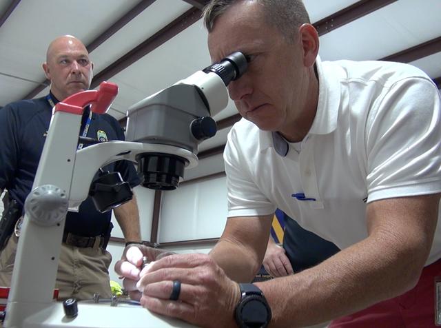 Scanning gun shell 'fingerprints' solving crimes
