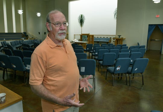 """Terry Uselton said speaking with a trauma response team helped him deal with the aftermath of the deadly shooting at the Tennessee Valley Unitarian Universalist Church. """"I needed to talk to people and I needed to be in a safe place where I could talk to people,"""" hesaid."""