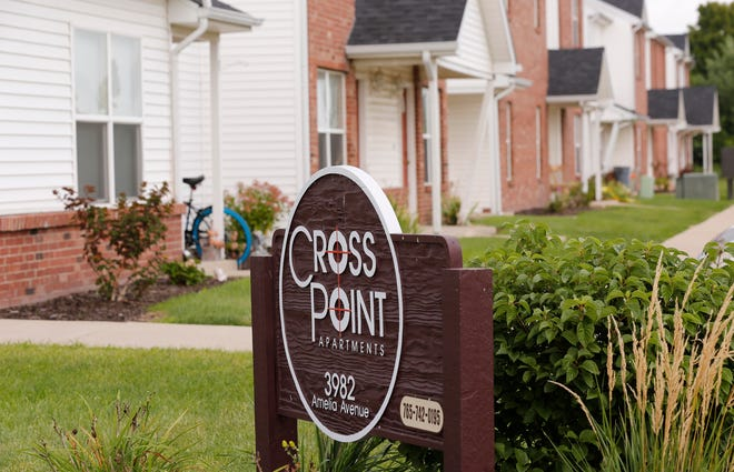 Cross Point Apartments Tuesday, August 21, 2018, in the 3900 block of Amelia Avenue in Lafayette. The body of 16-year-old Keiandre C. Holt was discovered just before 7 a.m. Aug. 21 in front an vacant apartment in the complex.