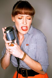 Gal Holiday and the Honky Tonk Revue bring country swing to Artmosphere Thursday night.