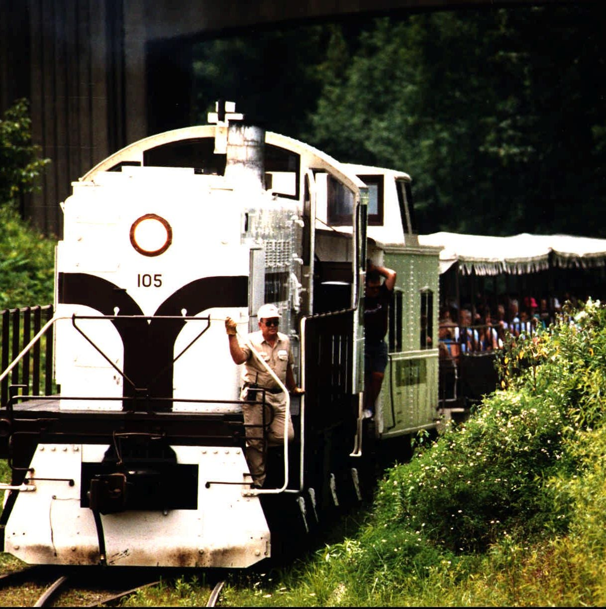 Fearless? Ride this 'ghost train' into an abandoned Kentucky coal mine