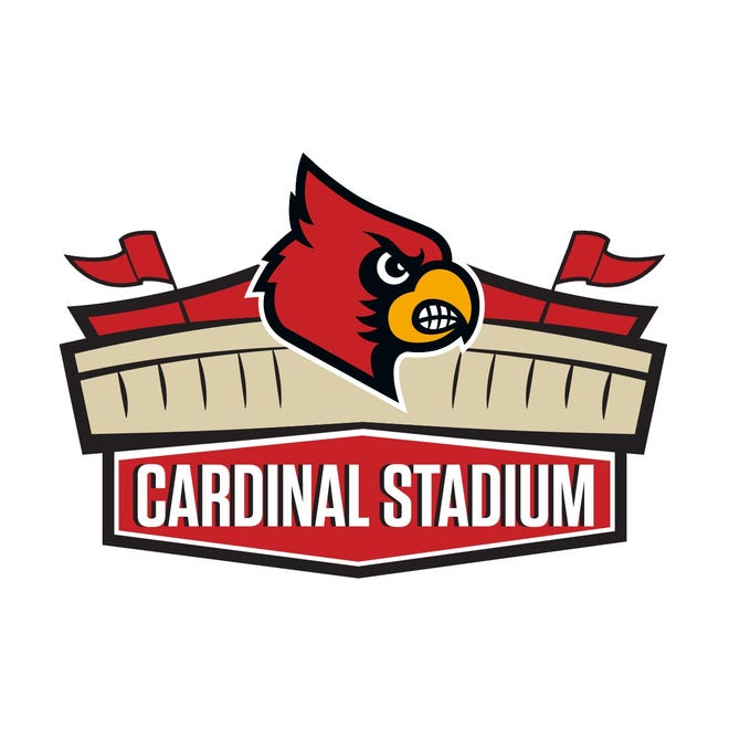A new Cardinal Stadium logo is being used for some marketing materials at the University of Louisville