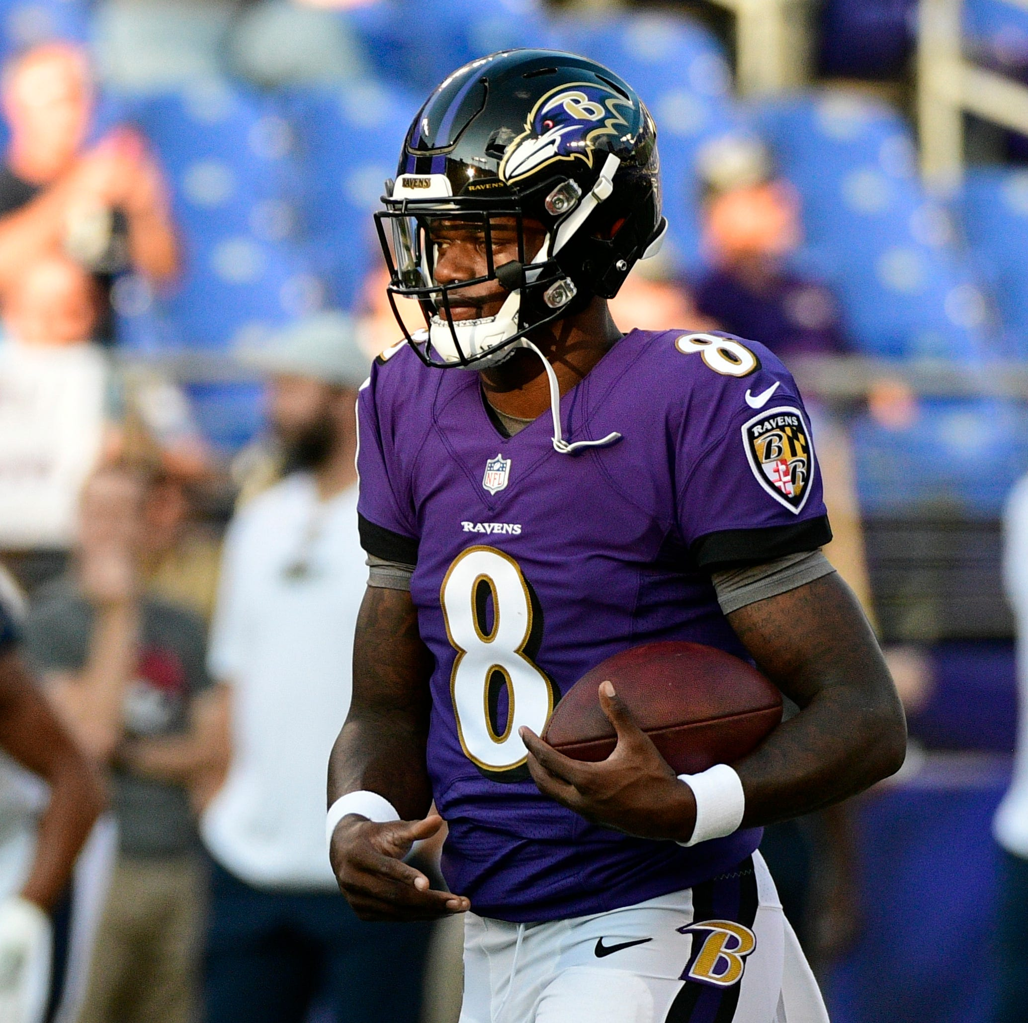 Lamar Jackson's talent on display after slow start in third preseason game