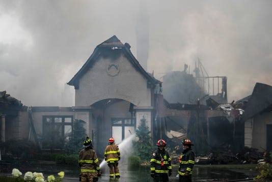 Prospect Home Destroyed In Fire