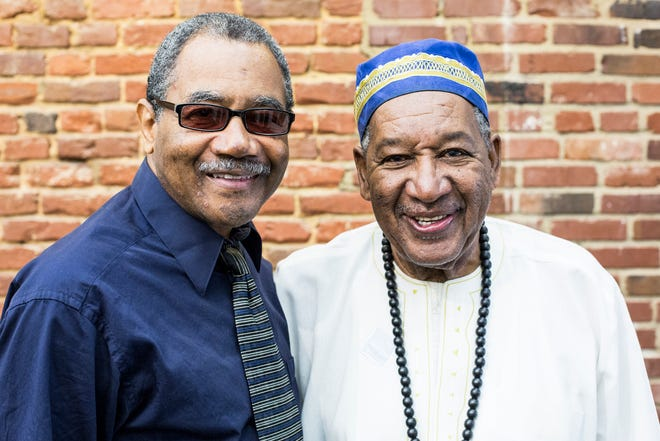 Calvin Taylor, a founding member of The Invaders, Memphis' grassroots civil rights group from the 1960s, and Dr. David Acey, a former member of the Memphis Orange Mound Mobilizers.