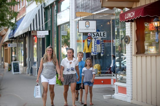 When you've allowed your kids to do everything they want at Timber Ridge Lodge, they'll be a lot more likely to let you do things like shop in downtown Lake Geneva.