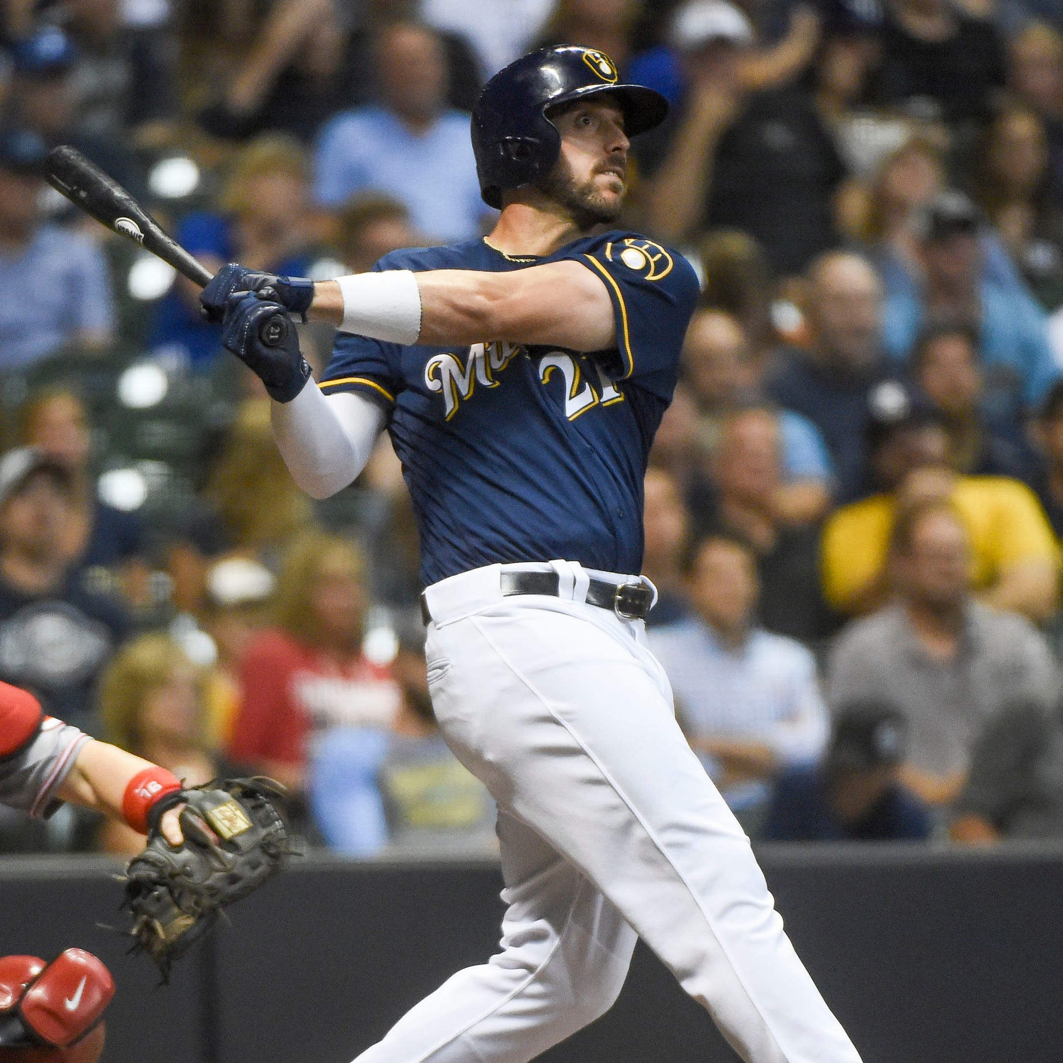 Brewers 5, Reds 2: Patience pays off for Brewers, Anderson