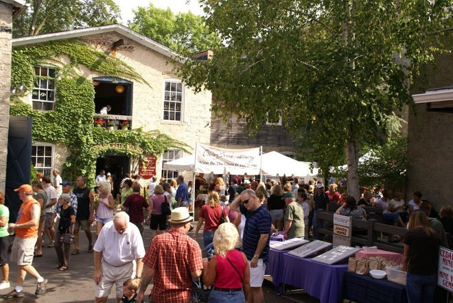 Cedarburg's annual Wine & Harvest Festival is Sept. 15-16 this year.