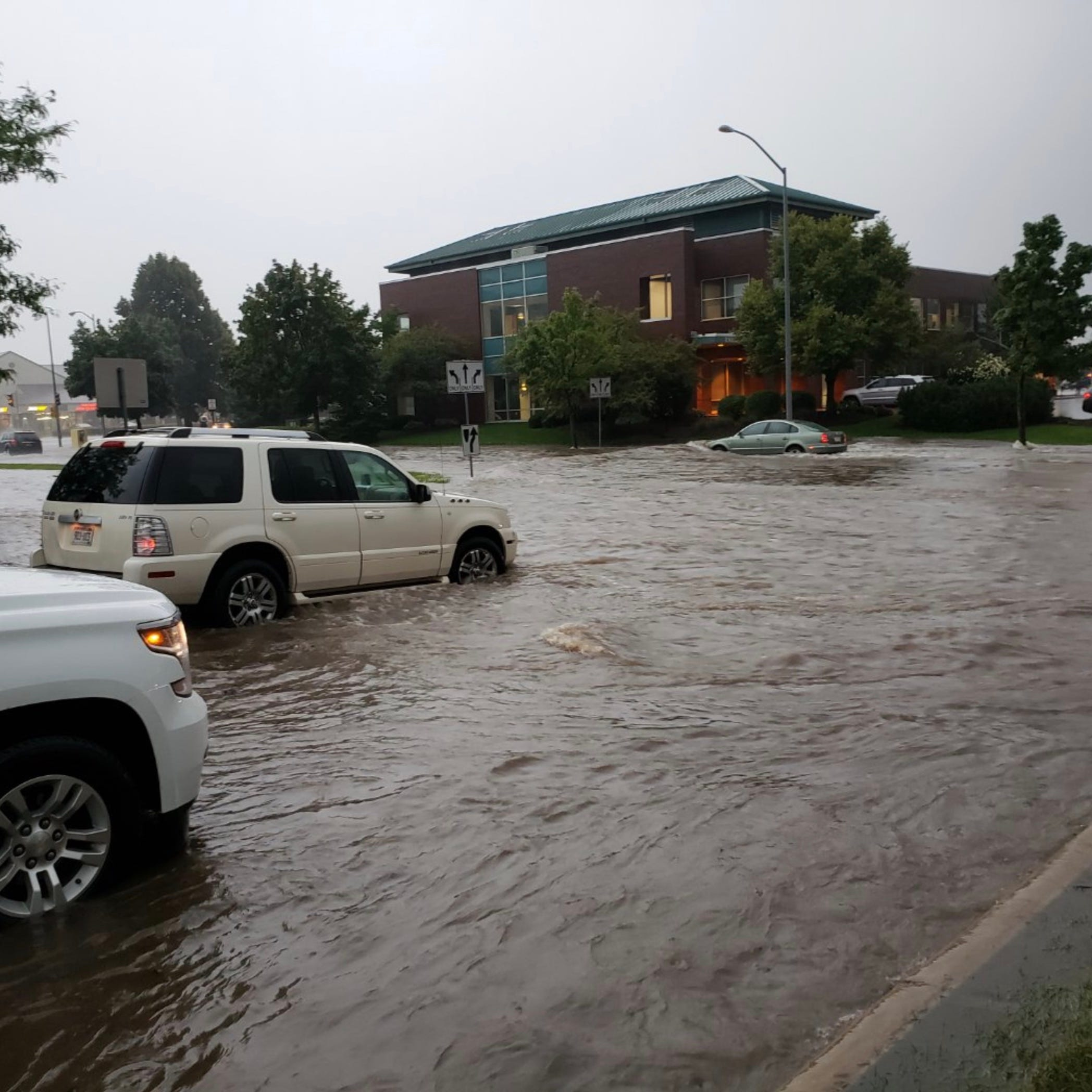 Record rain swamps Dane County, Madison; widespread flooding reported