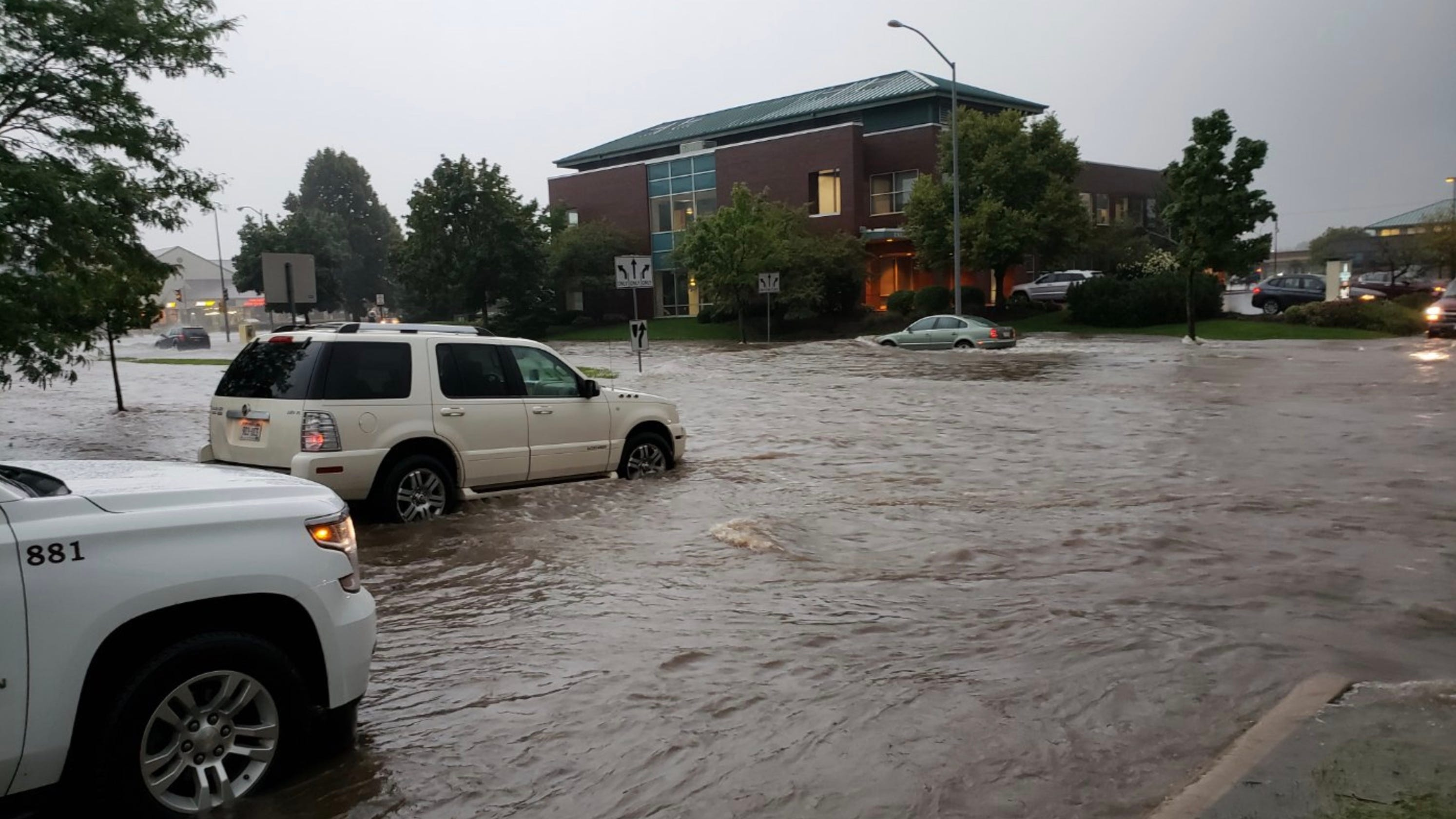 Madison braces for flooding, news and photos shared on social media